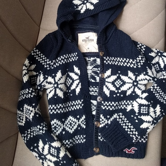 72% off Hollister Sweaters - Hollister Abercrombie Fair Isle ...
